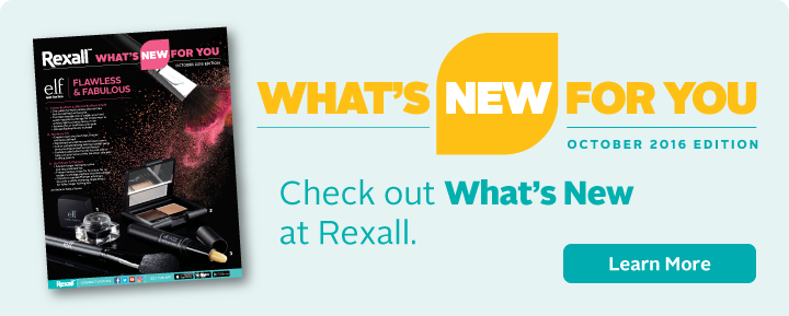 What's New at Rexall