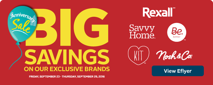 Big Savings on our Exclusive Brands