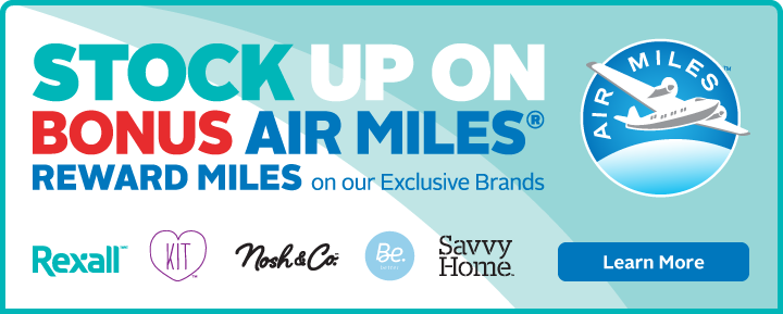 Stock Up On Bonus AIR MILES