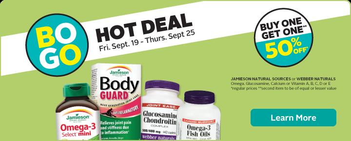 BOGO Deal on Vitamins