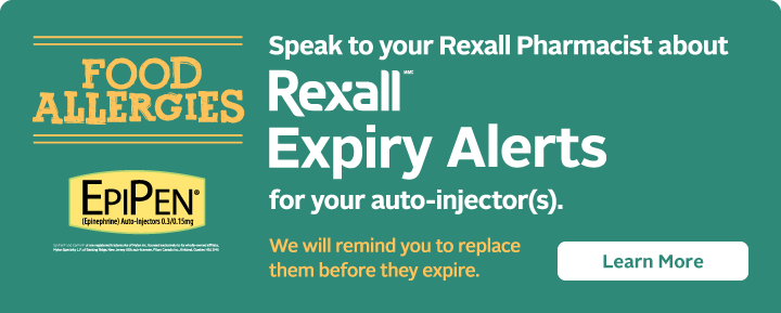 Rexall Expiry Alerts