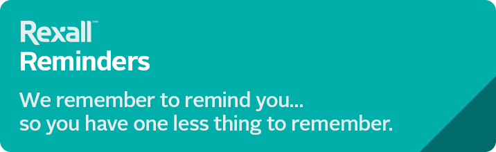 Rexall Reminders