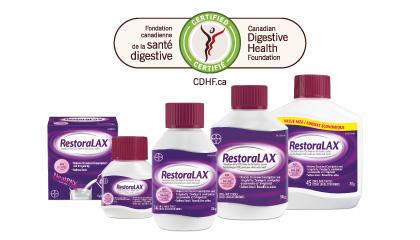 Restoralax CDHF Certified