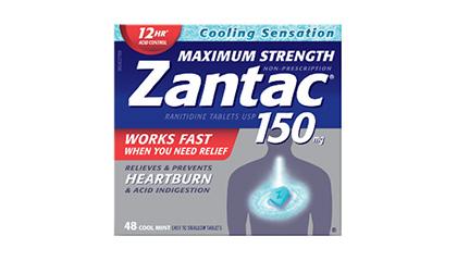 Zantac 150mg Maximum Strength Cool Mint